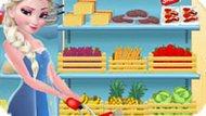 Игра Холодное сердце: Принцесса Эльза готовит бургер
