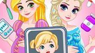 Игра Холодное сердце: Принцесса супер-мама