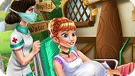 Игра Холодное сердце: Принцессса Анна рожает
