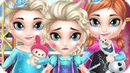 Игра Холодное сердце: Принцессы у доктора