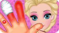 Игра Холодное сердце: Раненая рука Эльзы