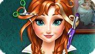 Игра Холодное сердце: Реальные прически Анны