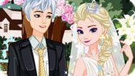Игра Холодное сердце: Ретро свадьба Эльзы