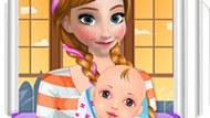 Игра Холодное сердце: Роды принцессы Анны