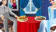 Игра Холодное сердце: Романтический ужин Эльзы