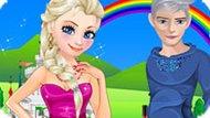 Игра Холодное сердце: Романтическое свидание Эльзы и Джека