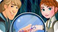 Игра Холодное сердце: Романтическое тату Анны и Кристофа