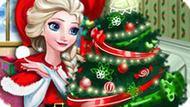 Игра Холодное сердце: Рождественский дом Эльзы