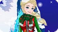 Игра Холодное сердце: Рождественский свитер Эльзы