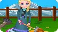 Игра Холодное сердце: Сад Эльзы