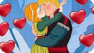 Игра Холодное сердце: Секретные поцелуи Анны