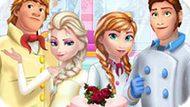 Игра Холодное сердце: Семейный торт