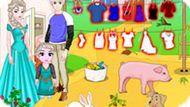 Игра Холодное сердце: Семья Эльзы на ферме