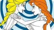 Игра Холодное сердце: Сестры Эльза и Анна