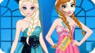 Игра Холодное сердце: Сестры на вечеринке