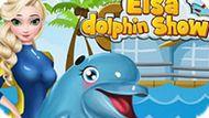Игра Холодное сердце: Шоу дельфинов Эльзы