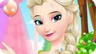 Игра Холодное сердце: Сладкий макияж Эльзы
