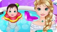 Игра Холодное сердце: Спа для ребенка Эльзы