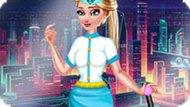 Игра Холодное сердце: Стюардесса Эльза
