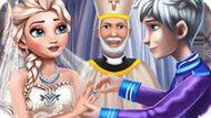 Игра Холодное сердце: Свадебная церемония Эльзы и Джека