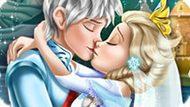 Игра Холодное сердце: Свадебные поцелуи Эльзы