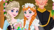 Игра Холодное сердце: Свадебный торт для Анны