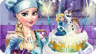 Игра Холодное сердце: Свадебный торт Эльзы
