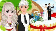 Игра Холодное сердце: Свадебный торт принцессы Эльзы