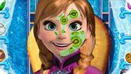 Игра Холодное сердце: Свежий макияж Анны