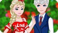 Игра Холодное сердце: Свидание Эльзы и Джека в колледже