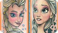 Игра Холодное сердце татуировки