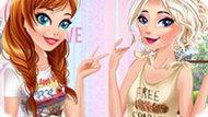 Игра Холодное Сердце: Тест дружбы принцесс