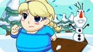 Игра Холодное сердце: Толстая Эльза теряет вес