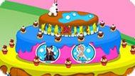Игра Холодное сердце: Торт для Олафа