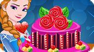 Игра Холодное сердце: Торт Эльзы к Дню Валентина