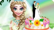 Игра Холодное сердце: Торт на свадьбу Эльзы