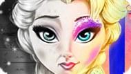 Игра Холодное сердце: Тотальный макияж Эльзы