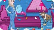 Игра Холодное сердце: Уборка дома вместе с Эльзой