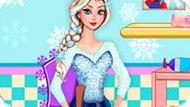 Игра Холодное сердце: Уборка Эльзы в ванной