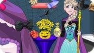 Игра Холодное сердце: Уборка перед Хэллоуином