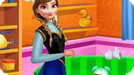 Игра Холодное сердце: Уборка в доме Анны