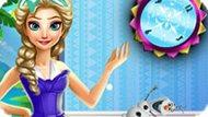 Игра Холодное сердце: Уборка в комнате Эльзы