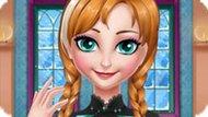 Игра Холодное сердце: Уход за головой Анны