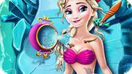 Игра Холодное сердце: Уход за Эльзой русалкой