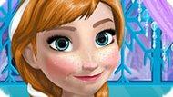 Игра Холодное сердце: Уход за кожей Анны