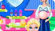 Игра Холодное сердце: Ванна для малышки Эльзы