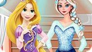 Игра Холодное сердце: Вечеринка Эльзы и Рапунцель