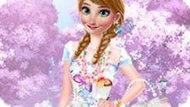 Игра Холодное сердце: Весенние наряды Анны