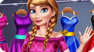 Игра Холодное сердце: Весенний гардероб Анны