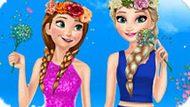 Игра Холодное сердце: Весенняя одевалка